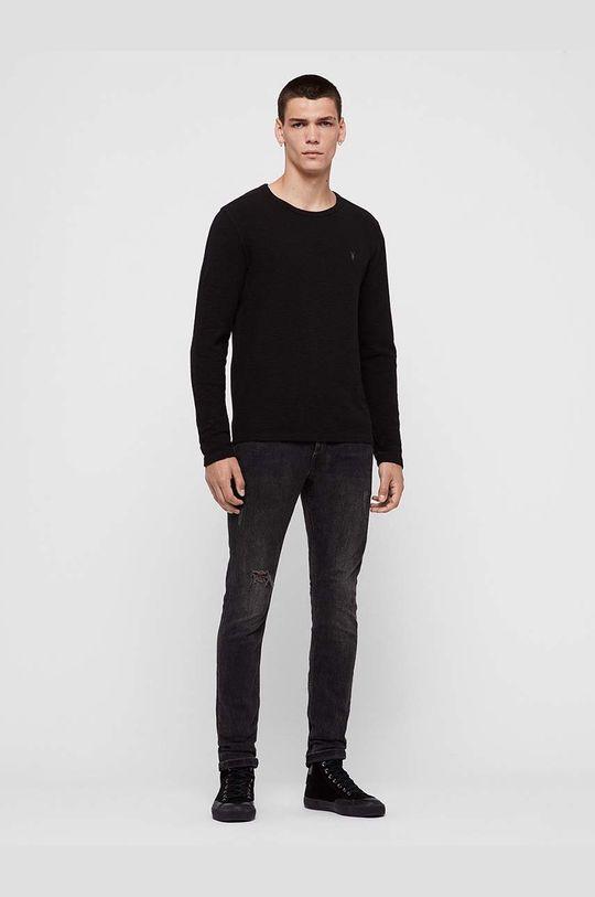 AllSaints - Tričko s dlouhým rukávem Muse LS Crew  99% Bavlna, 1% Elastan