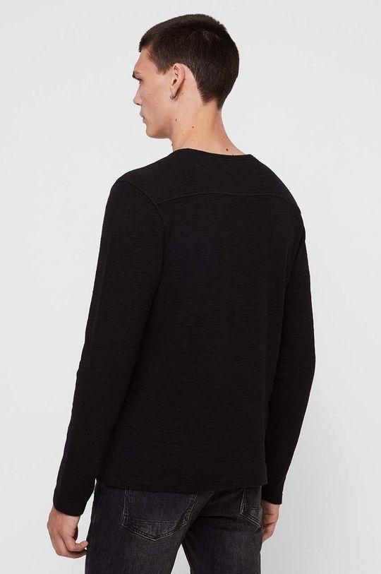 černá AllSaints - Tričko s dlouhým rukávem Muse LS Crew