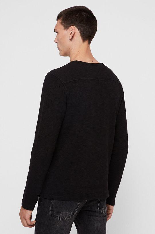 AllSaints - Tričko s dlouhým rukávem Muse LS Crew Pánský