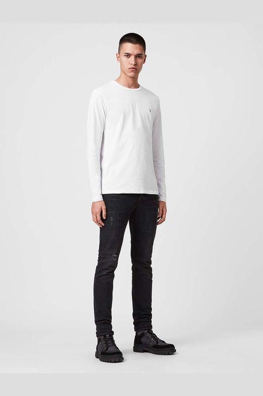 AllSaints - Tričko s dlouhým rukávem Brace LS Tonic Crew  100% Bavlna