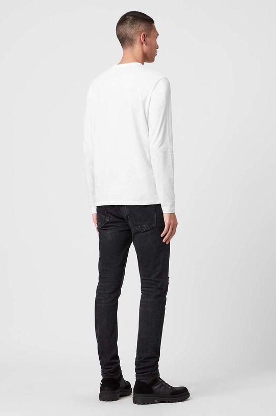 bílá AllSaints - Tričko s dlouhým rukávem Brace LS Tonic Crew