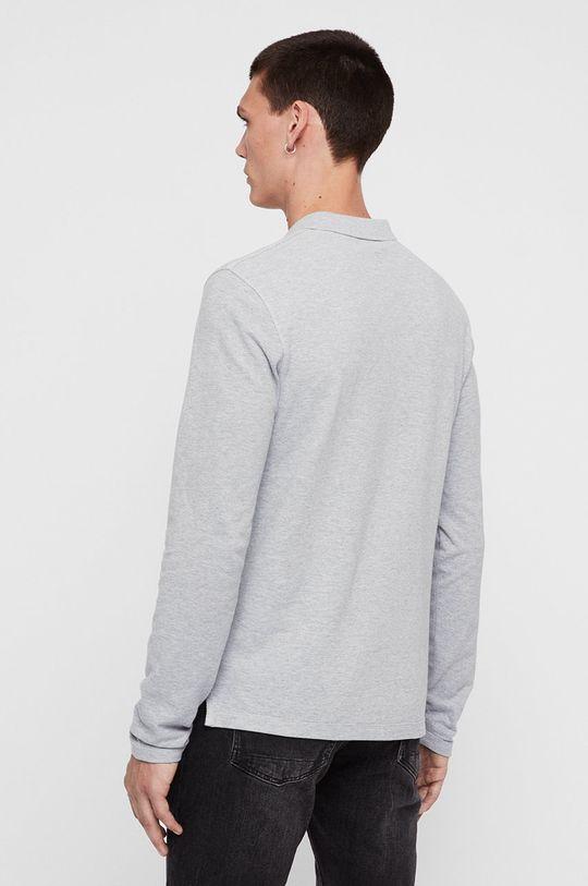 AllSaints - Tričko s dlouhým rukávem Reform Polo Pánský