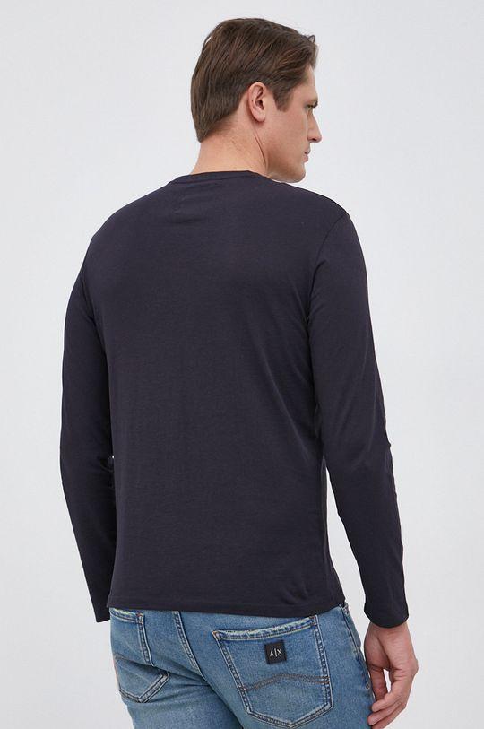 Armani Exchange - Βαμβακερό πουκάμισο με μακριά μανίκια  100% Βαμβάκι
