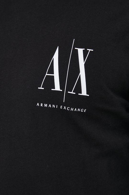 Armani Exchange - Βαμβακερό πουκάμισο με μακριά μανίκια Ανδρικά