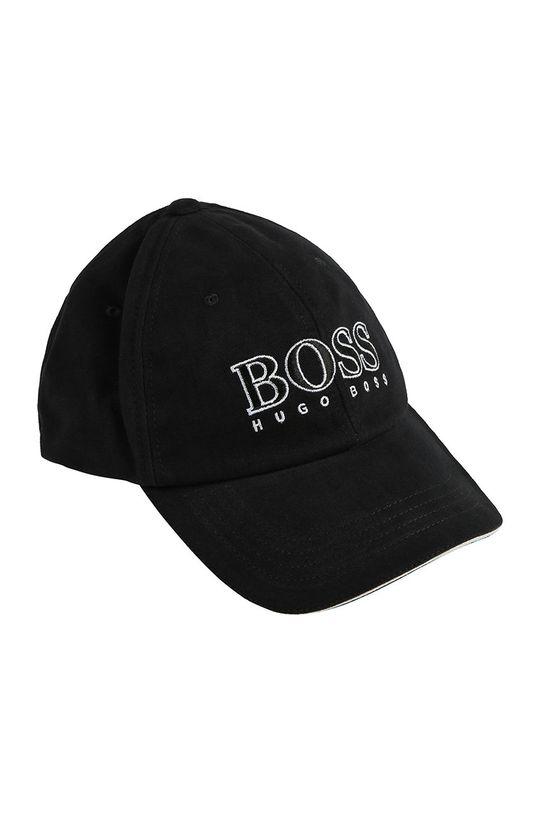 czarny Boss - Czapka dziecięca Chłopięcy