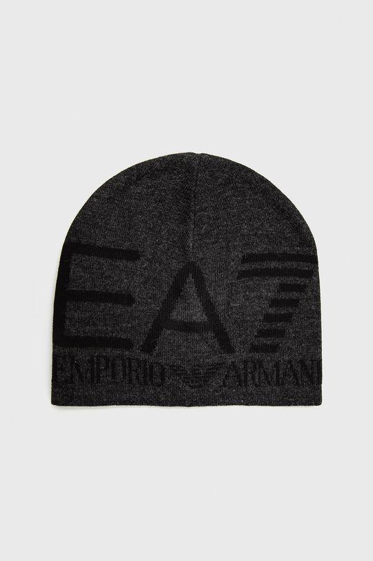 černá EA7 Emporio Armani - Čepice Dámský