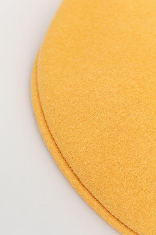 Kangol - Kaszkiet żółty