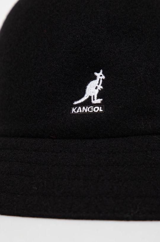Kangol - Kapelusz wełniany czarny