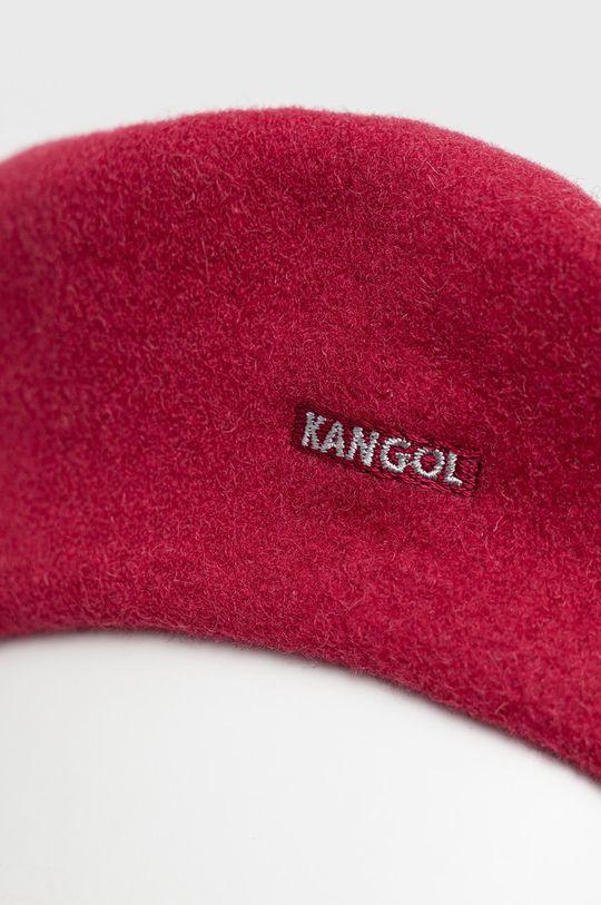 Kangol - Beret wełniany różowy