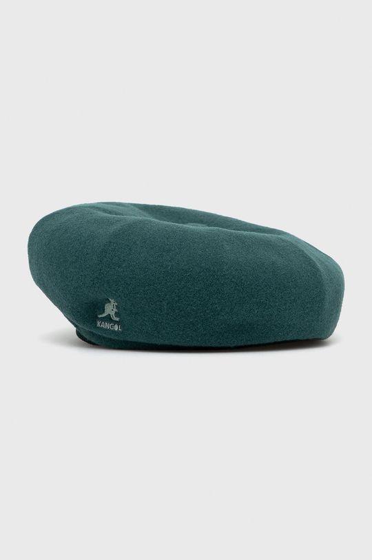 zielony Kangol - Beret wełniany Damski