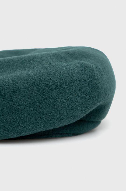 zielony Kangol - Beret wełniany