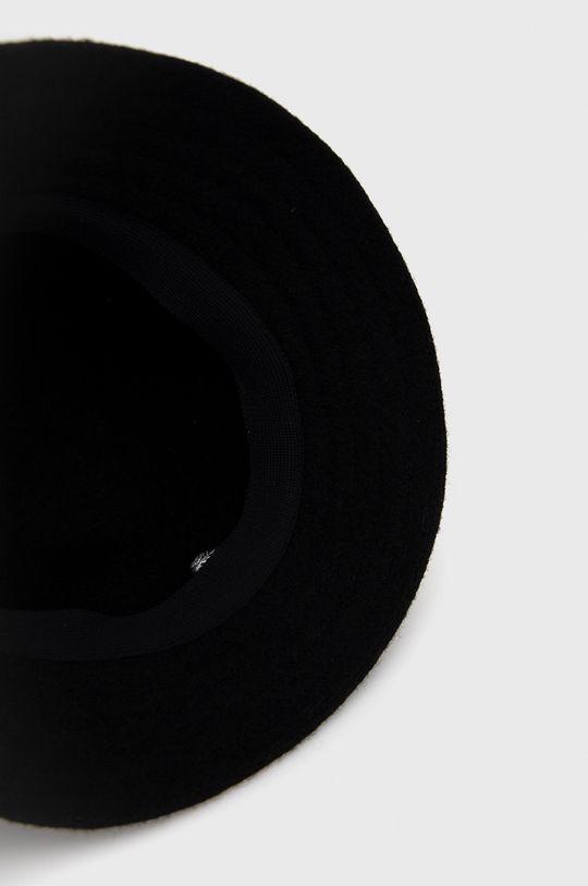 czarny Kangol - Kapelusz wełniany