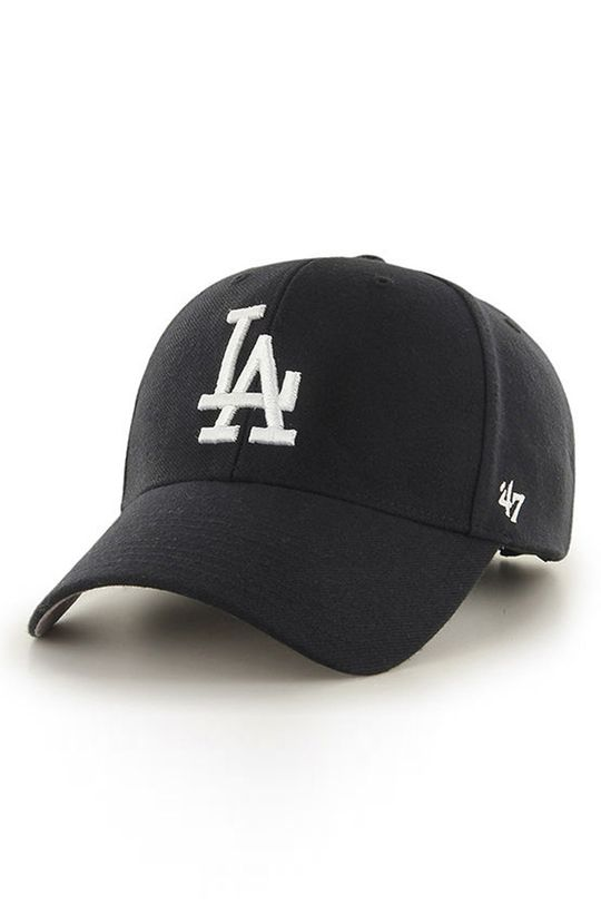 negru 47brand - Sapca Los Angeles Dodgers De bărbați