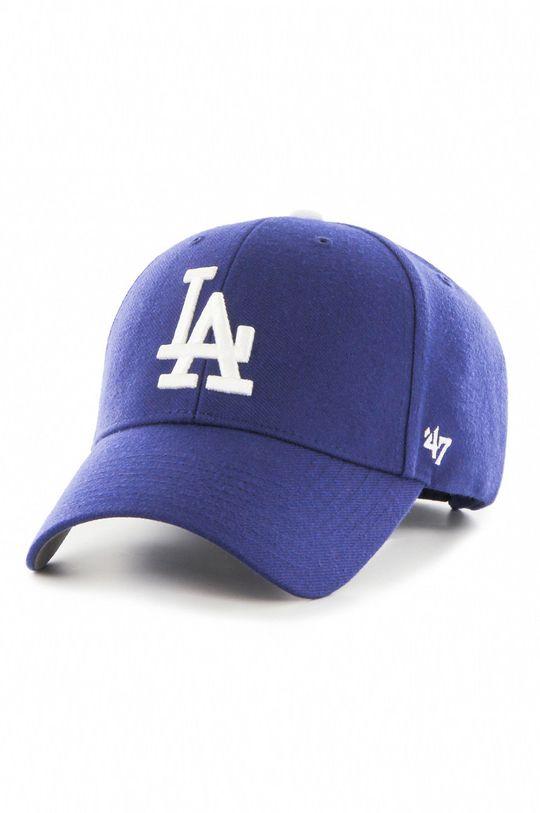 niebieski 47brand - Czapka Los Angeles Dodgers Męski