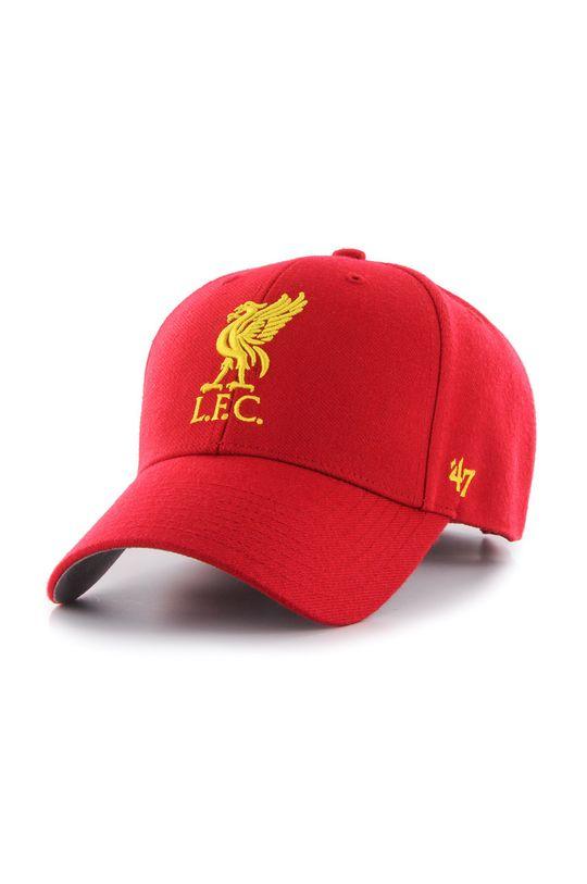 47brand - Čepice Liverpool Fc červená