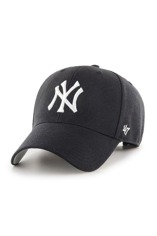 czarny 47brand - Czapka New York Yankees Męski