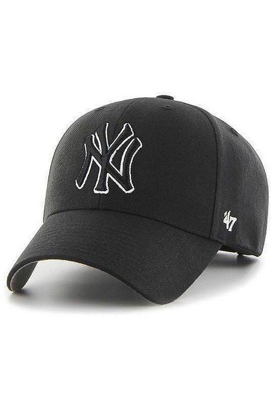 czarny 47brand - Czapka NY Yankees Męski