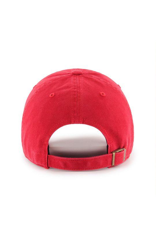 47brand - Czapka z daszkiem czerwony