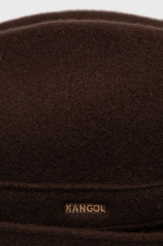 Kangol - Kapelusz ciemny brązowy