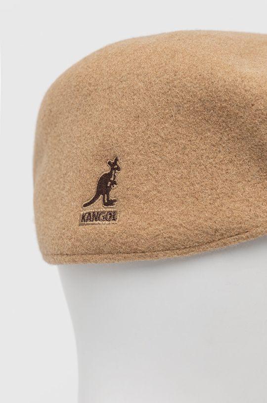 Kangol - Kaszkiet wełniany Materiał zasadniczy: 100 % Wełna, Taśma: 100 % Nylon