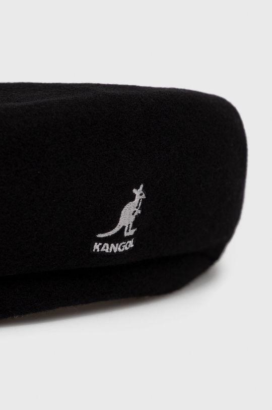 Kangol - Kaszkiet wełniany czarny