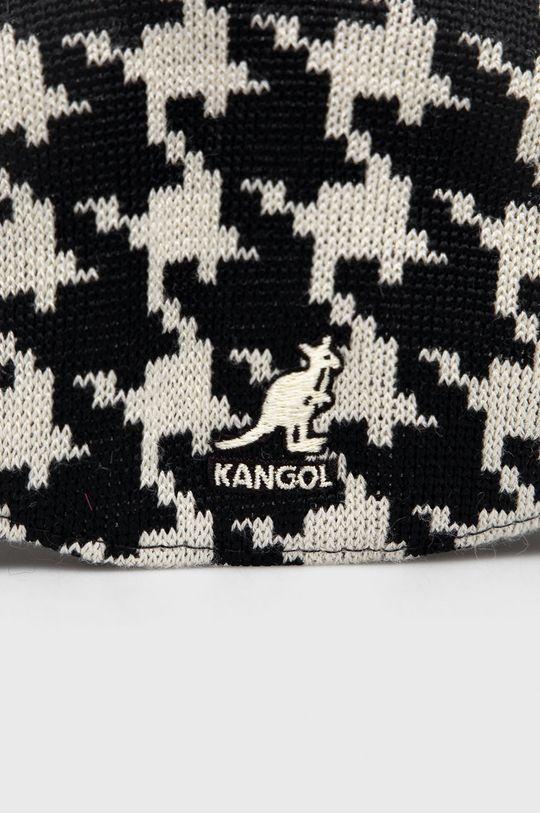 Kangol - Kaszkiet z domieszką wełny czarny