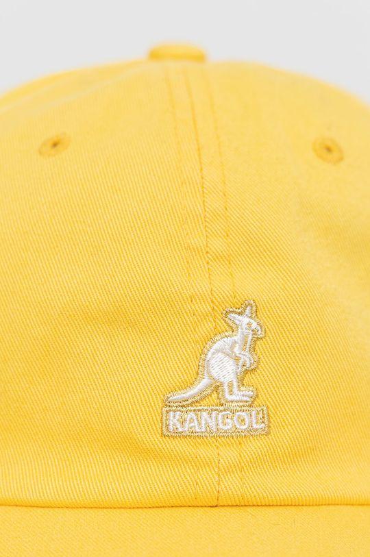 Kangol - Czapka żółty