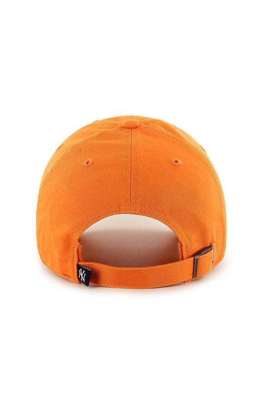 47brand - Czapka z daszkiem pomarańczowy