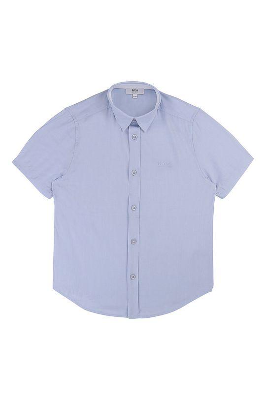 modrá Boss - Detská košeľa 104-110 cm Chlapčenský