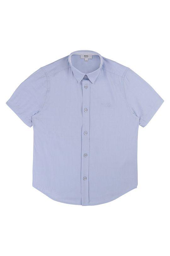 modrá Boss - Dětská košile 164-176 cm Chlapecký