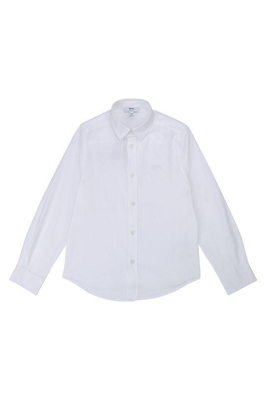 biały Boss - Koszula dziecięca 104-110 cm Chłopięcy