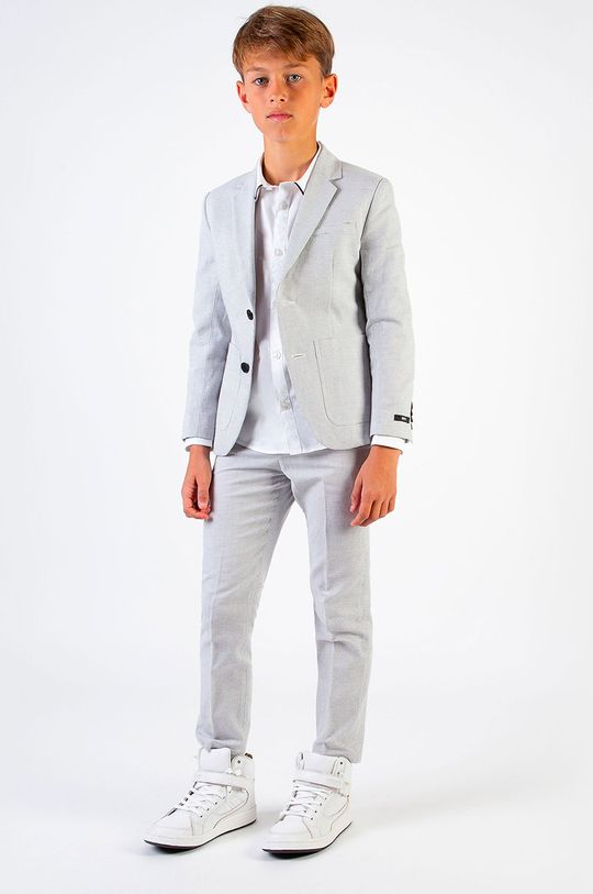 Boss - Koszula dziecięca 104-110 cm biały