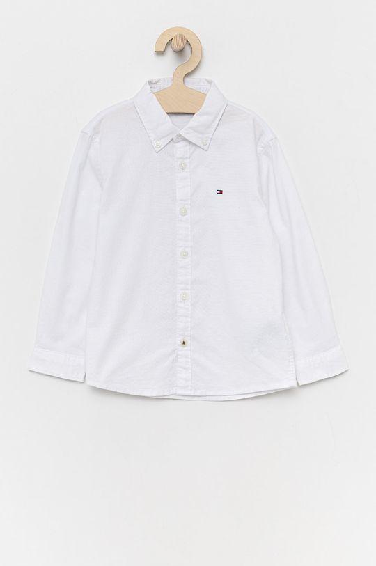 biały Tommy Hilfiger - Koszula dziecięca Chłopięcy
