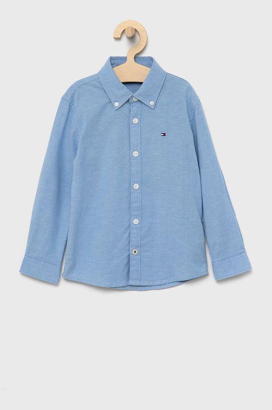 jasny niebieski Tommy Hilfiger - Koszula dziecięca Chłopięcy