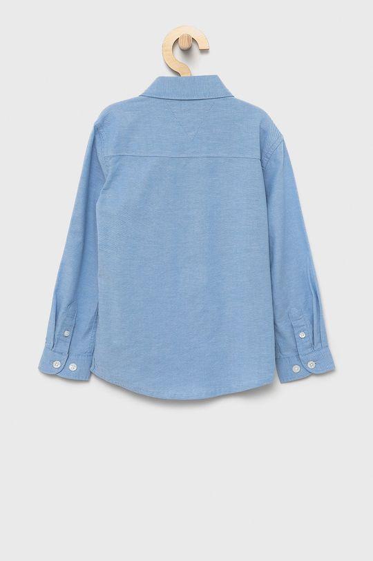 Tommy Hilfiger - Koszula dziecięca jasny niebieski