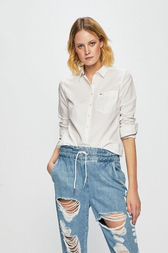 biela Tommy Jeans - Košeľa Dámsky