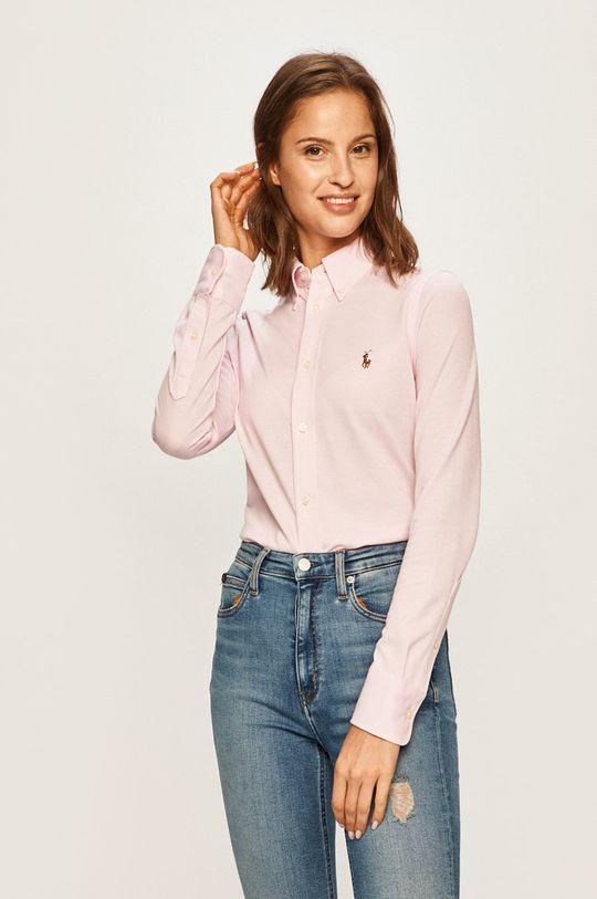 розов Polo Ralph Lauren - Риза Жіночий