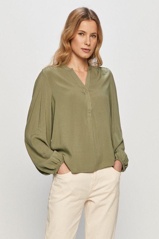 zielony Jacqueline de Yong - Bluzka Damski
