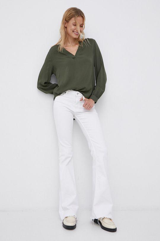 Jacqueline de Yong - Bluza verde