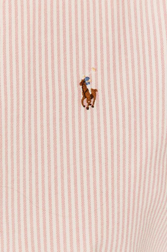 Polo Ralph Lauren - Bavlnená košeľa pastelová ružová