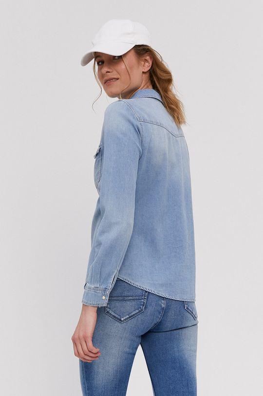 světle modrá Vero Moda - Bavlněná košile