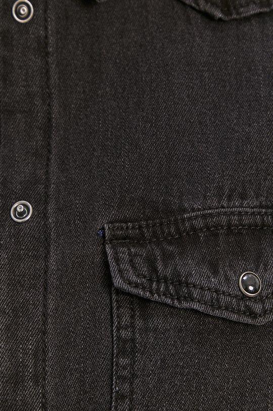 Vero Moda - Bavlnená košeľa čierna