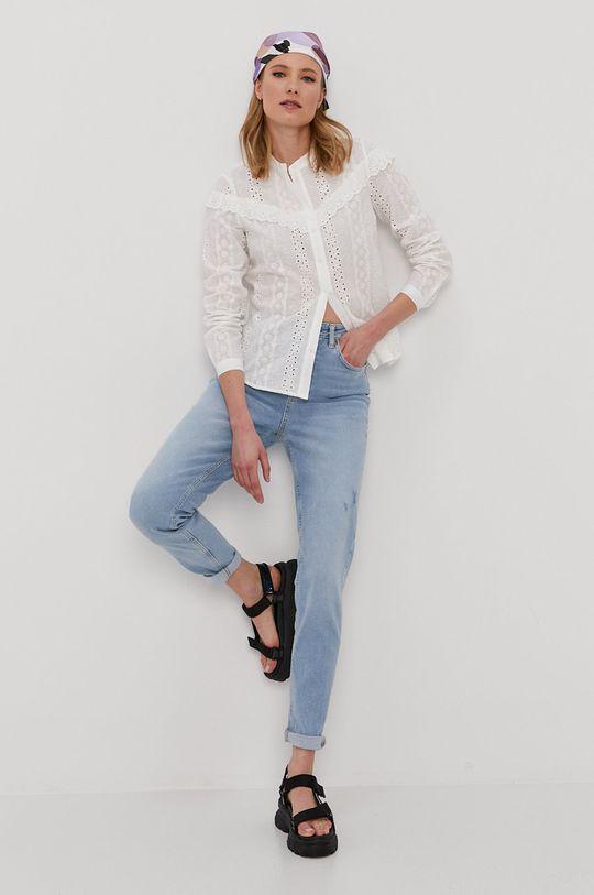 biela Vero Moda - Bavlnená košeľa Dámsky