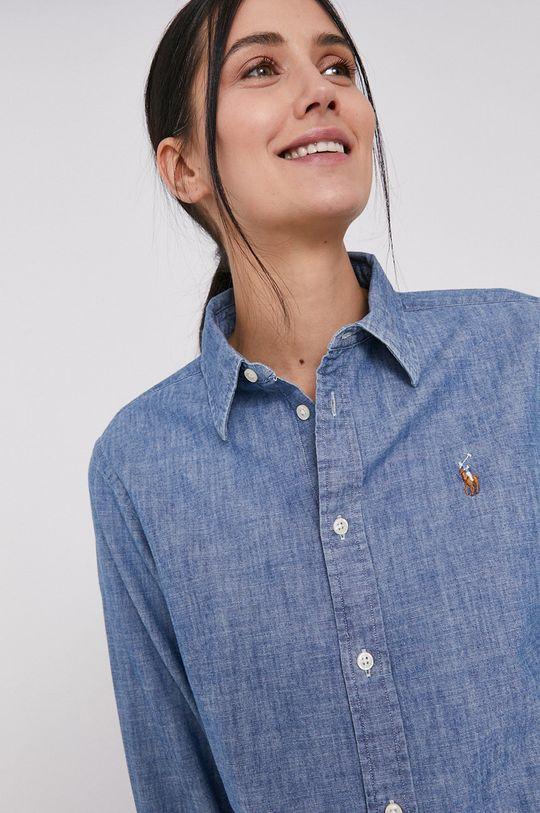 albastru deschis Polo Ralph Lauren - Camasa din bumbac De femei