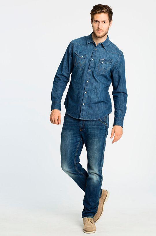 Wrangler - Koszula Western Indigo <p>100% bawełna</p>