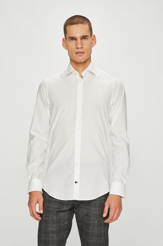 biały Tommy Hilfiger Tailored - Koszula Męski