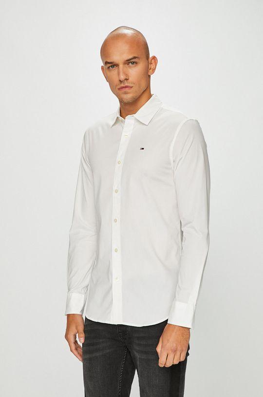 biały Tommy Jeans - Koszula Męski