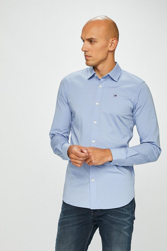 světle modrá Tommy Jeans - Košile Pánský