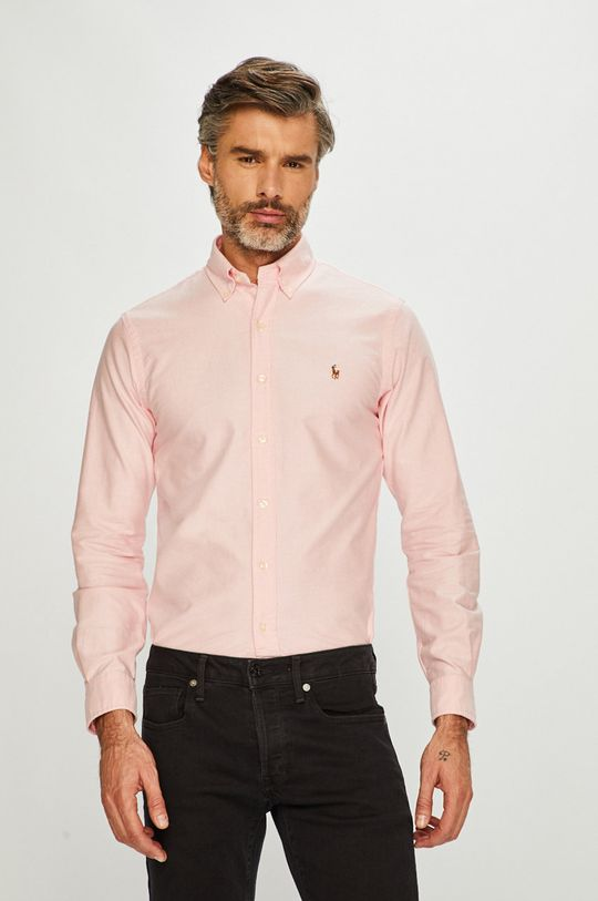 różowy Polo Ralph Lauren - Koszula Męski