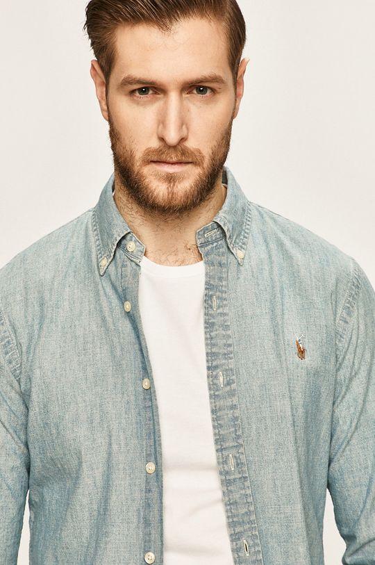 jasny niebieski Polo Ralph Lauren - Koszula jeansowa Męski